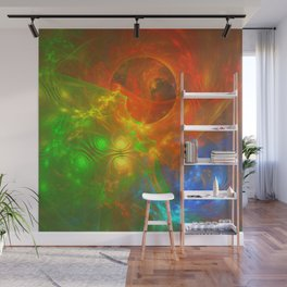 Swirling Colors Wall Mural