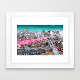 Laser Kats Framed Art Print