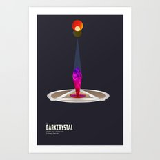 The Dark Crystal Minimal Film Poster Art Print