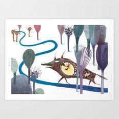 Tom Thumb Art Print