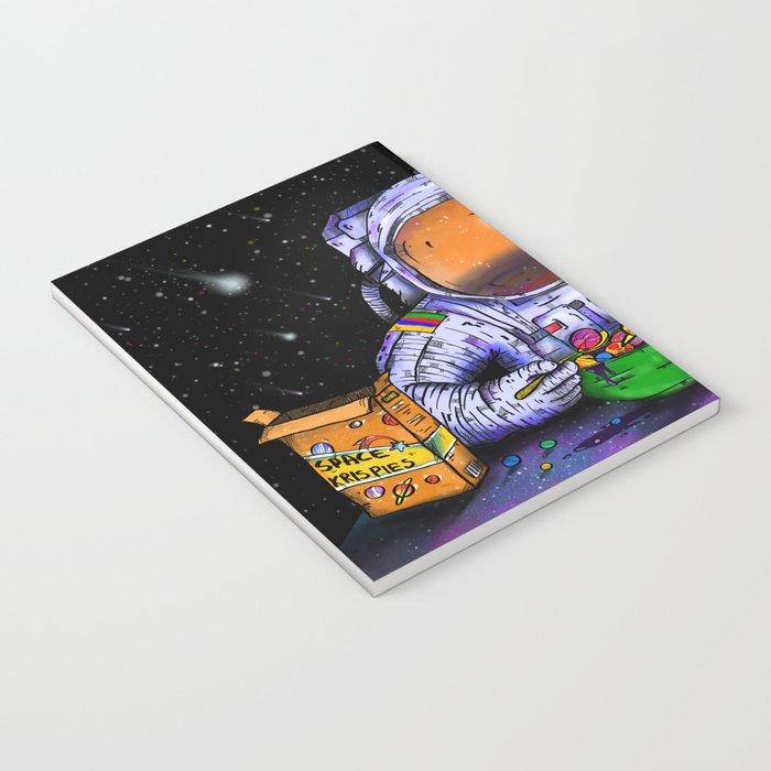 Astronaut's Breakfast Notebook