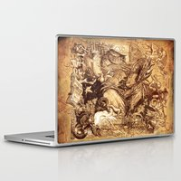 medieval Laptop & iPad Skins featuring Medieval by TheMagicWarrior