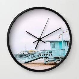 Santa Monica Pier Lifeguard Wall Clock