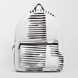 Rolled lines Backpack