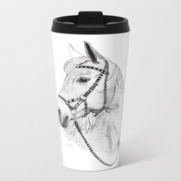 Inka horse Metal Travel Mug