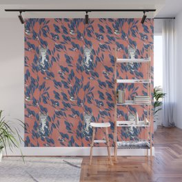 in the wild // repeat pattern Wall Mural