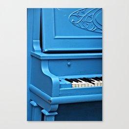 Piano Blues Canvas Print