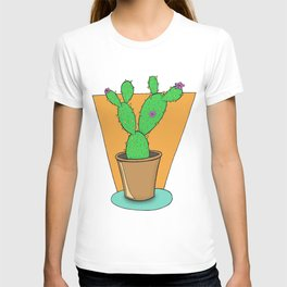 Cacti with Flowers T-shirt