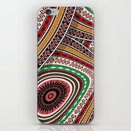 Tribal adventure iPhone Skin