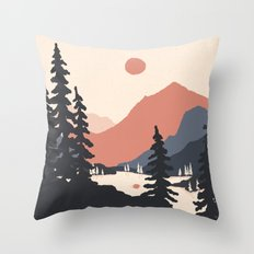 View From the East Shore... Throw Pillow