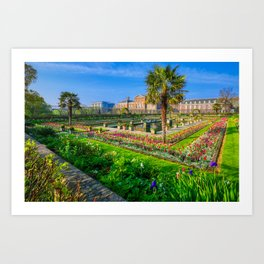 Kensington Palace in London, UK Art Print