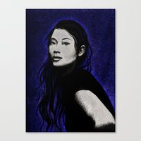 lucy Canvas Prints featuring lucy by Taylor Jean