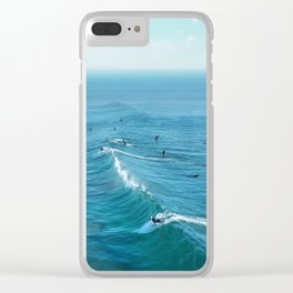 Huntington Beach Clear iPhone Case