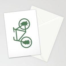 Pacific Northwest Cycling - Bike, Bicycle, Portland, PDX, Seattle, Washington, Oregon, Portlandia Stationery Cards