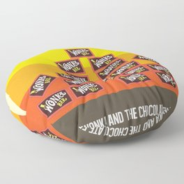 Willy Wonka And The Chocolate Factory Floor Pillow