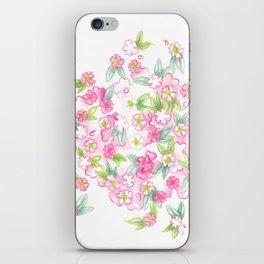 Martha's Flowers iPhone Skin