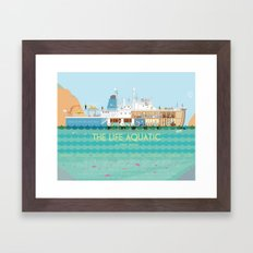 The Life Aquatic Framed Art Print