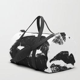 Kisses All Over (Black & White) Duffle Bag