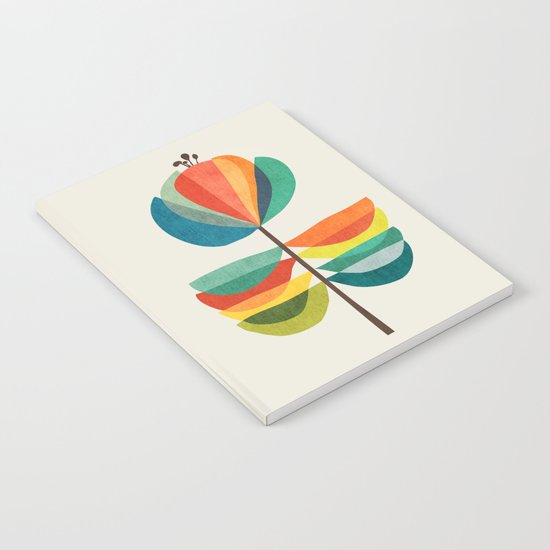 Whimsical Bloom Notebook