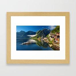 Hallstatt Austia Framed Art Print