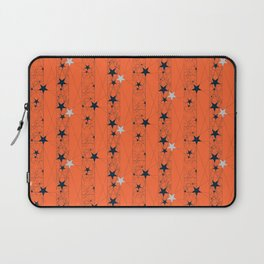 Orange Juice Stars Laptop Sleeve