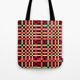 Little squares pattern! Tote Bag