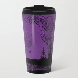 Knik River Mts. Pop Art - 2 Travel Mug