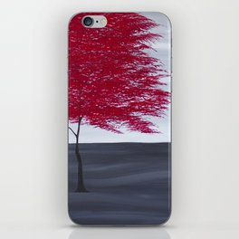 Red Tree iPhone Skin