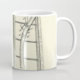 Mode of Securing Fire Hose on a Ladder-1884 Coffee Mug