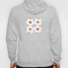 White Poppies Hoody