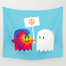 Hippie ghost Wall Tapestry