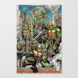 Awesome turtles TMNT Canvas Print