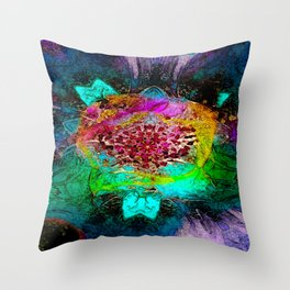 The Night Before Throw Pillow