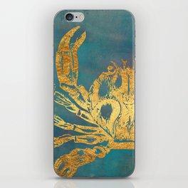 Deep Sea Life Crab iPhone Skin