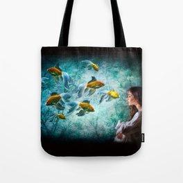 Ocean Deep Dreaming Tote Bag