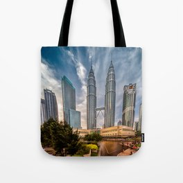 Twin Towers KL Tote Bag
