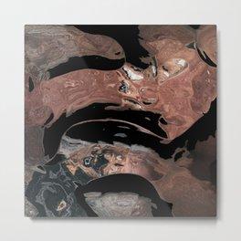 Black desert waters Metal Print