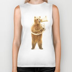 The Bear and its Helicon Biker Tank