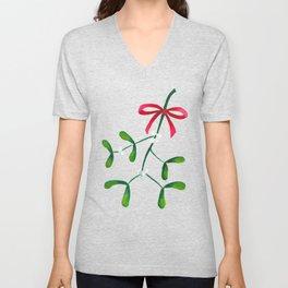 Meet me under the Mistletoe Unisex V-Neck
