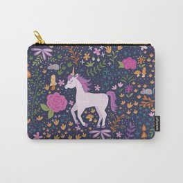 Unicorns Dancing in an Enchanted Garden Carry-All Pouch