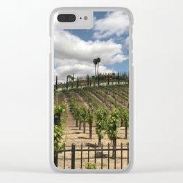 Temecula Vineyard Clear iPhone Case