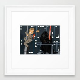 Like Father Like Son Framed Art Print
