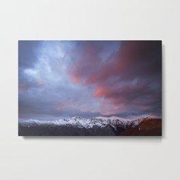 Sunrise over Triglav peak Metal Print