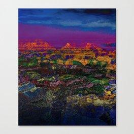 Spectacular Canyon Canvas Print