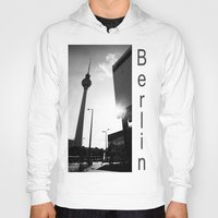 berlin Hoodies featuring Berlin by Falko Follert Art-FF77