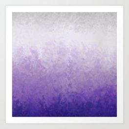 Lavender mist Art Print