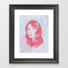 Go baby go! Framed Art Print