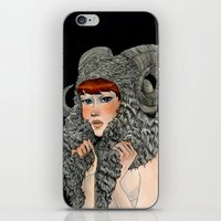 ram iPhone & iPod Skins featuring Ram by Renee Nault