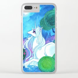 Last Unicorn II Clear iPhone Case