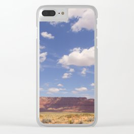 Desert Sky Clear iPhone Case